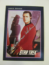 "James Doohan Autographed Trading Card -Star Trek ""Scotty"" 1991 Impel"