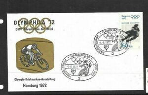Germany 1972 Olympic Games Cycling cover