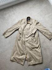 Men's Vintage BURBERRY's BURBERRY Camel Trench Coat Mac Size 50R