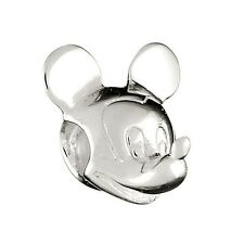 Chamilia sterling Silver RARE Disney Charm Bead Mickey Mouse Head DIS-1 RRP £36