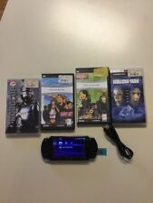Sony PSP-2001 Bundle with 2gb Memory Stick 2 Games 2 Movies Charge Cable