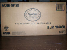 1993 SKYBOX PREMIUM FOOTBALL FACTORY SEALED CASE OF 20 BOXES BETTIS & STRAHAN RC