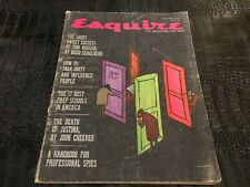 NOV 1960 vintage ESQUIRE magazine GREAT ADS