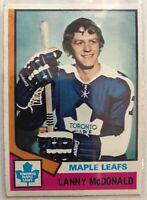 1974-75 Lanny McDonald Topps Card #168 Rookie Toronto Maple Leafs