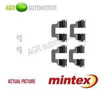 MINTEX REAR BRAKE PADS ACCESORY KIT SHIMS GENUINE OE QUALITY - MBA1245
