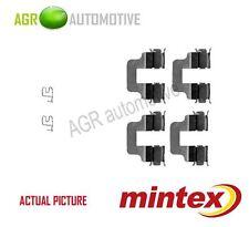 MINTEX REAR BRAKE PADS ACCESORY KIT SHIMS GENUINE OE QUALITY - MBA1245