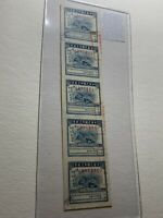 China Revenue Stamps Lot DD5