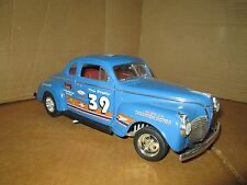 1:18 pro street  1941 plymouth  display road signature the pretty