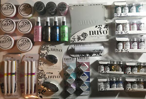 Nuvo Misc. Lot - Glitter, Ink Pad, Tape Runner, Mousse, Mica Mist, Etc(28 Items)