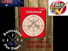 Water Crystal Gun TARGET Soft Gel Ball Bullet Ammo Game Blaster Pistol Toy Gell