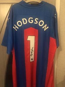 Roy Hodgson Signed Crystal Palace Shirt England Premier League