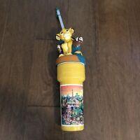 "Disneyland 14"" Disney Coca Cola LION KING Sports Sipper Cup Straws"