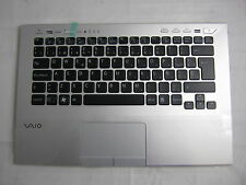 Sony Vaio PCG-41219V VPCSC Tastatur mit Rahmen Touchpad ES P/N: 9Z.N6BBF.00S