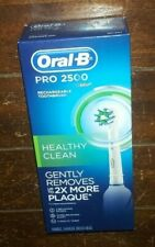 Oral-B Pro 2500 Rechargeable Toothbrush: Handle, Charger & Brush Head Included!