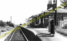 Stanhoe Railway Station Photo. Docking - Burnham Market. Heacham to Wells. (1)