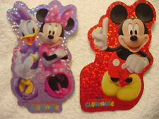 """12 MICKEY MOUSE CLUB 4"""" Stickers 12 designs SandyLion"""