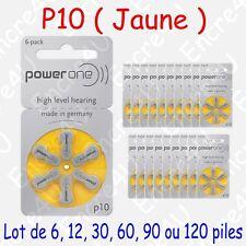 Pile VARTA pour Appareil Auditif série 10 code couleur JAUNE x 1 6 30 60 90 120