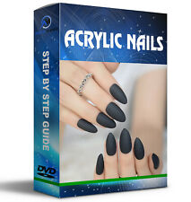 Learn How To Do Acrylic Nails Dvd Tutorial Nail Art Design