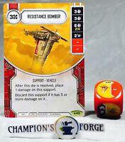 Majordomo 18 Rare Star Wars Destiny Legacies M//NM x1 Bib Fortuna