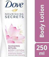 100 % Original Dove Glowing Ritual Body Lotion 250 ml Free Shipping