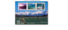 NLZ00071 Views of New Zealand mini sheet  MNH NEW ZEALAND 2000