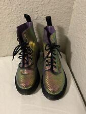 Dr. Martens Boots  Metallic Purple  Sz 5