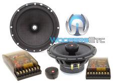 "CDT AUDIO CL-62 6.5"" 2-WAY CLASSIC SERIES COMPONENT SPEAKERS W/ CAST BASKET NEW"