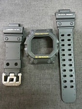 Vintage G-Shock King GX-56 GXW GWX Black Yellow Font Case Band Strap Replacement