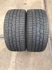 2* Winterreifen 255/40 R18 99V Continental Conti Winter Contact TS830P MO DOT15