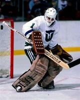 Mike Liut Hartford Whalers Unsigned 8x10 Photo