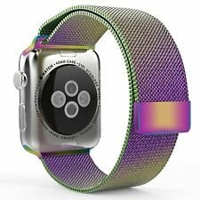 Stainless Steel Bracelet Strap Band + Cover Case for Apple Watch iWatch band USA