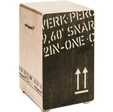 Schlagwerk CP 403 BLK 2inOne Snare Cajon Medium Black Edition