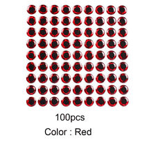 500Pcs Fish Eye 3-6mm 3D Holographic Lure Fish Eyes Fly Tying Jigs CrafYH