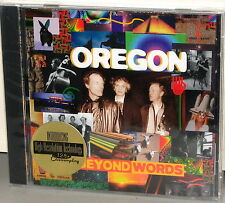 CHESKY CD JD-130: Oregon - Beyond Words - USA 1995 Factory SEALED
