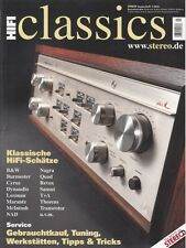 Stereo cuaderno: HiFi Classics salida 1/2016