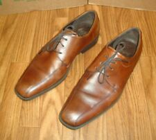 Ecco Men'S Brown Leather Bicycle Toe Oxford Dress Shoes Size Us 13M / Eur 47