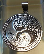 Pendant Celtic Tree of Life Amulet Jewelry 925 sterling silver (c609) Bitcoin