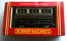 Hornby R.446 GWR 4 Wheel Coach with 1st and 3rd class - Boxed Vintage Original