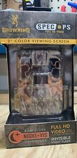 One Browning Spec Ops Advantage Trail Cam 20 MP 2in Viewing Screen Free Shipping