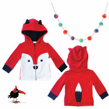 Mini Jiji Stretch Fox Hoodie/Jacket for Baby 12-18 Months 22-27 Pounds
