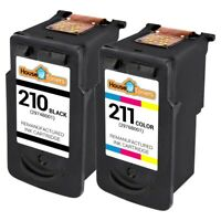 2pk PG-210 CL-211 Ink for Canon PIXMA iP2700 iP2702 MX320 MX330 MX340 MX350