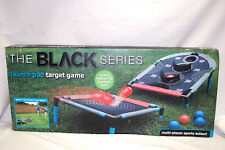 Portable Launch Pad Target Game 8-Piece The Black Series with Foam Balls   M4480