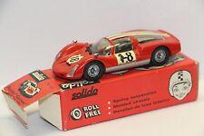 Solido Ref 151 Porsche Carrera 6 #18 Le Mans, Red Mint Box  France 1/43  Diecast