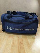 Under Armour UA Large Duffle Bag All Sport Duffel Gym Bag Navy Blue GUC 22 inch