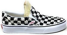 Vans Womens Peanuts Snoopy Classic Slip On Checkerboard Shoe Size 6 M US
