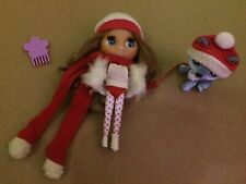 "Littlest Pet Shop Blythe Doll B1 ""Cold Weather Cute"" with Blue Husky Dog #1617"