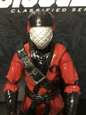 Hasbro GI Joe Classified 6 inch Custom Cobra Ninja Slice