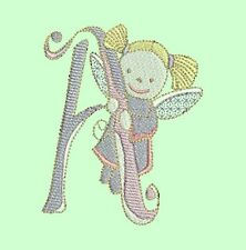FAIRY ABC ALPHABET  - 30 MACHINE EMBROIDERY DESIGNS