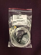 Zoll Cable, V Lead ECG, IEC, PROPAQ MD    REF# 8300-0804-12    NEW!!