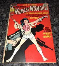 Wonder Woman #196 Origin Wonder Woman Key ! See My Silver/Bronze Age Ones!